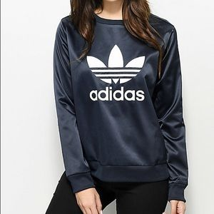 Satin Adidas originals sweatshirt